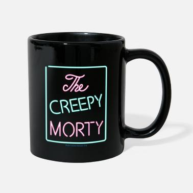 Rick And Morty The Creepy Morty Clublogo Tasse - Tasse