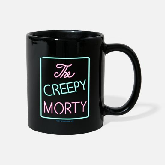 Officialbrands Tassen & Becher - Rick And Morty The Creepy Morty Clublogo Tasse - Tasse Schwarz