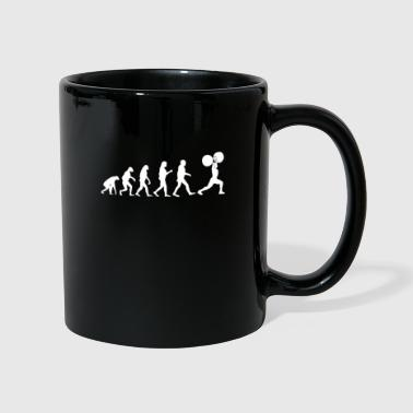 Weightlifting funny workout fitness - Full Colour Mug