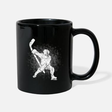 Winter Ice Hockey Player Winter Sports Skater Gift - Full Colour Mug