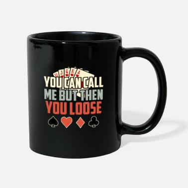 Ass Poker game Texas Holdem Gift I Poker - Mug