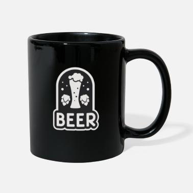 Adult Humour Beer wheat hops blue gray - Full Colour Mug
