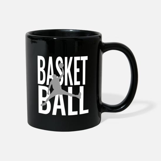 Sports Mugs & Drinkware - Basketball Basketball Basketball - Mug black
