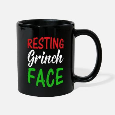 Uncle Resting Grinch Face Funny Christmas Gift RBF - Mug