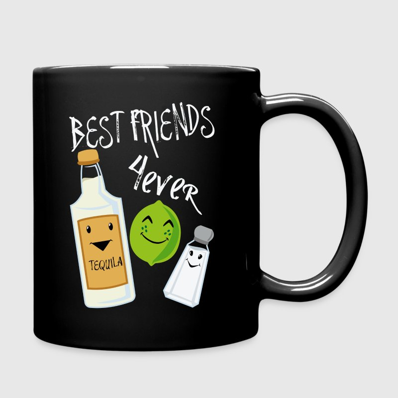 Best Friends Forever Tequila Lime Salt Humour - Full Colour Mug