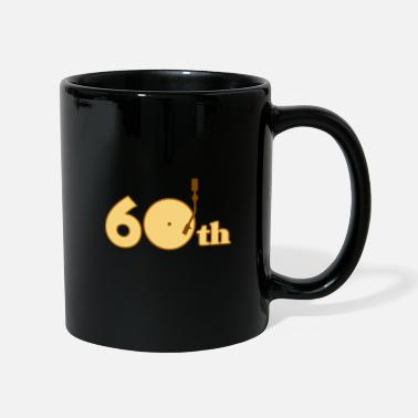 Old Lp 60th 60s turntable old time LP retro - Mug