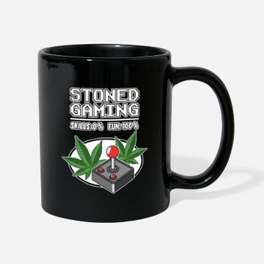 Weed Stoned Gaming Cannabis THC Weed Gamer Zocker Weed - Mug