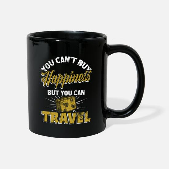 Travel Mugs & Drinkware - Traveling traveler - Mug black