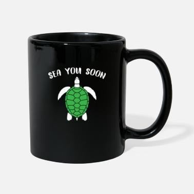 Serpent Turtle turtle cute zoo sayings funny cool - Mug