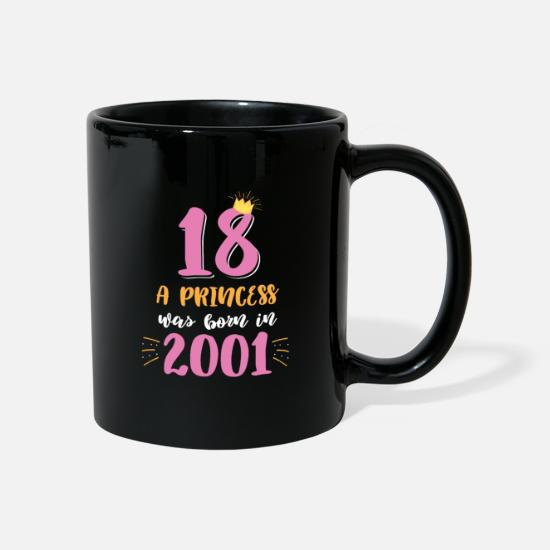 Birthday Mugs & Drinkware - Funny teenage girl daughter's birthday - Mug black