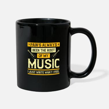 Konzert Musik - Pains been the root of my music - Tasse