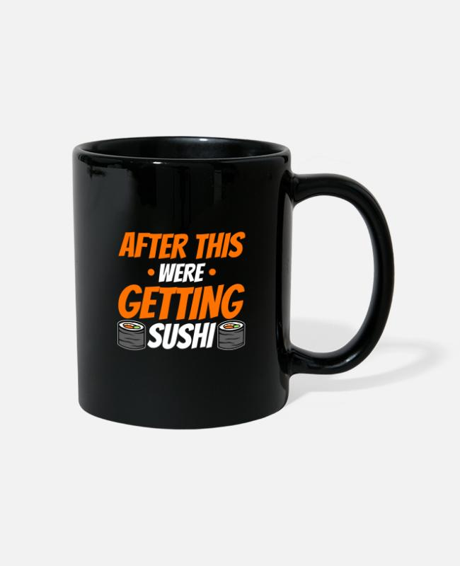 Restaurant Mugs & Drinkware - You have to try sushi - Mug black