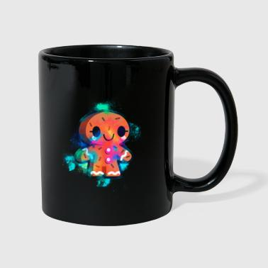 Sand Man Gingerbread man biscuit colorful - Full Colour Mug