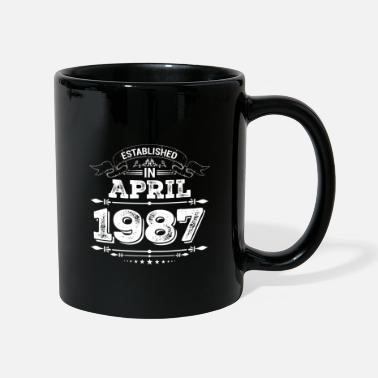 Established Established in April 1987 - Mug