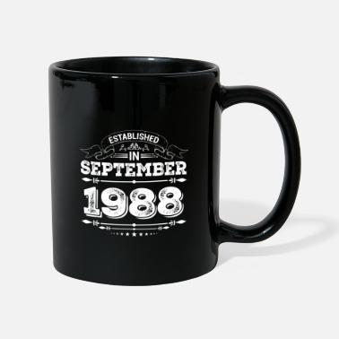 Established Established in September 1988 - Mug