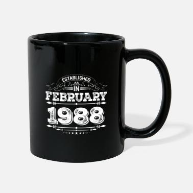 Established Established in February 1988 - Mug