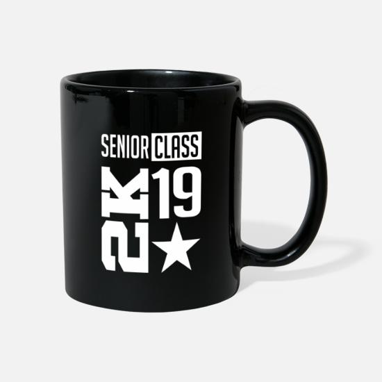 College Mugs & Drinkware - Senior Class 2019 - Mug black