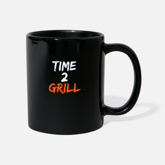 Steak Mugs & Drinkware - Barbecue Summer Time Time Gift - Mug black