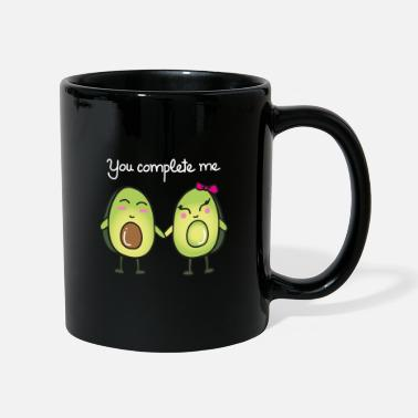 Illsutration You Complete Me (Avocado) - Kubek