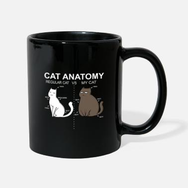 Cadeau d'animal familier d'animal drôle de chat de graisse - Mug