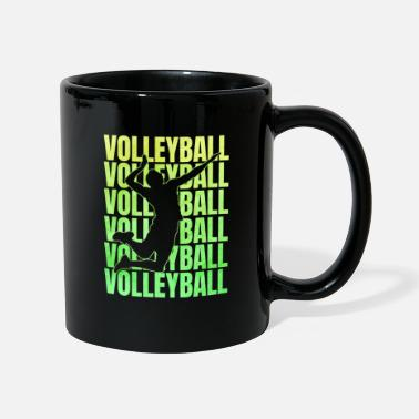 Volley Volleyball volleyball match - Mug