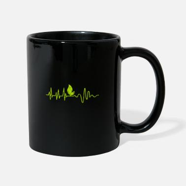 Animal Vegan heartbeat gift - Mug