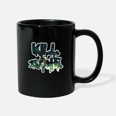 Halloween Kill Splatter Danger Zone en disant slogan - Mug