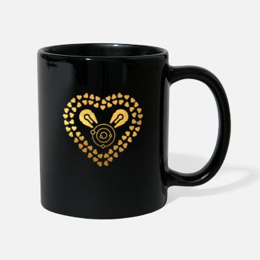 Scifi Love Space and SciFi Gold - Space and SciFi - Tasse