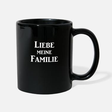 Love my family and friendship - Mug