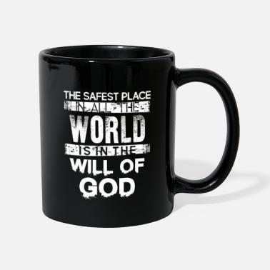 Places Of Interest The Safest Place Quote Tshirt - Mug