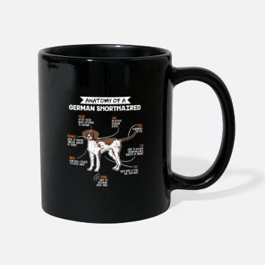 German Shorthaired Pointer Anatomy Of A German Shorthaired Funny Dog Gift - Mug