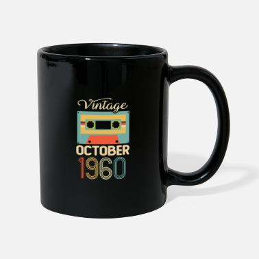 Established Vintage October 1960 60th Birthday 60 Year Gift - Mug