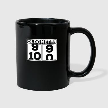 Celebrate Oldometer 100 birthday celebration shirt gift - Full Colour Mug