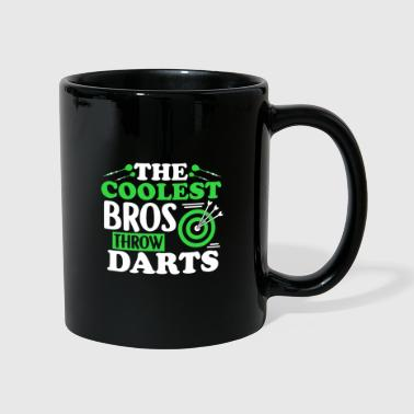 Bonita Darts Dart T-shirt Brother Brother Bro - Taza de un color