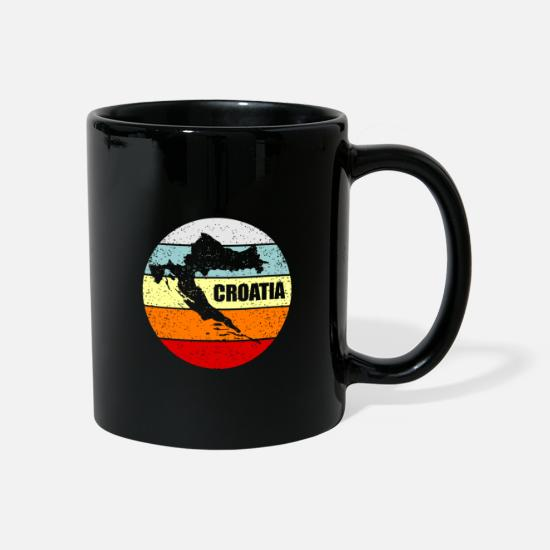 Croatia Mugs & Drinkware - Croatia - Mug black