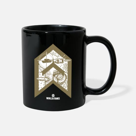 World Of Tanks Mugs & Drinkware - World of Tanks Bootcamp Targeting - Mug black