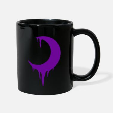 Drip Moon dripping 2 purple - Mug