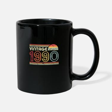 Year Of Birth 30th Birthday Gift Graphic. Classic, Vintage 1990 - Mug