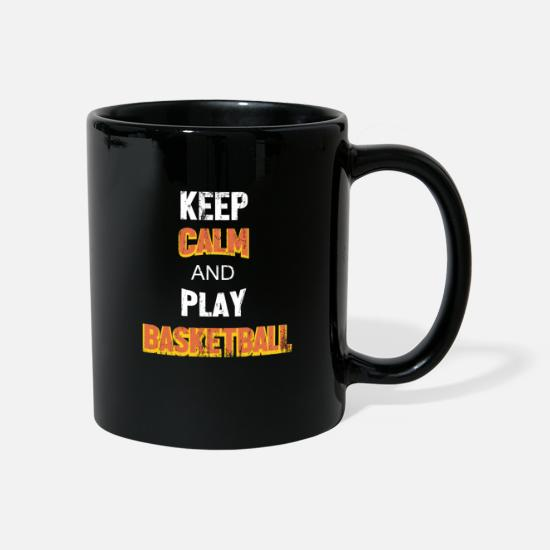 Gift Idea Mugs & Drinkware - Basketball hobby - Mug black