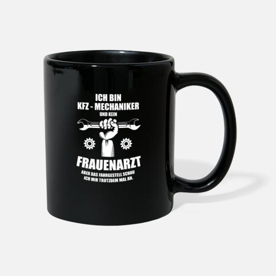 Occupation Mugs & Drinkware - Automotive mechatronics profession - Mug black