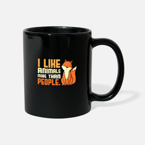 Bless You Mugs & Drinkware - Animal Vegan Gift Idea - Mug black