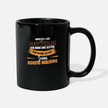 Walking Nordic Walking for a walk - Mug