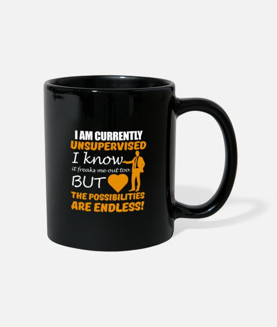 Endless Mugs & Drinkware - funny funny bestseller gift idea - Mug black