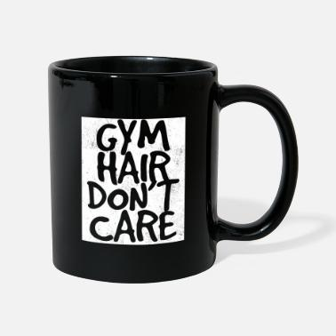 Funny Gym Gym Workout Funny Design - Gym Hair non si cura - Tazza monocolore