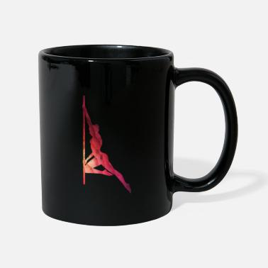 Strip Pole dance dancer woman grunge look - Mug