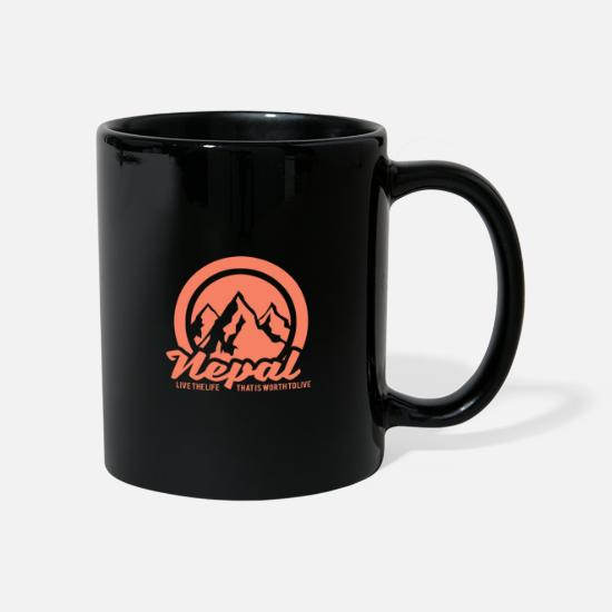 Gift Idea Mugs & Drinkware - Nepal - Mug black