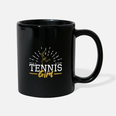 Tennis Court Tennis Girl Power - Mug