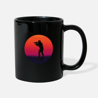 Paintball AIRSOFT passion cadeau original personnalisé - Mug