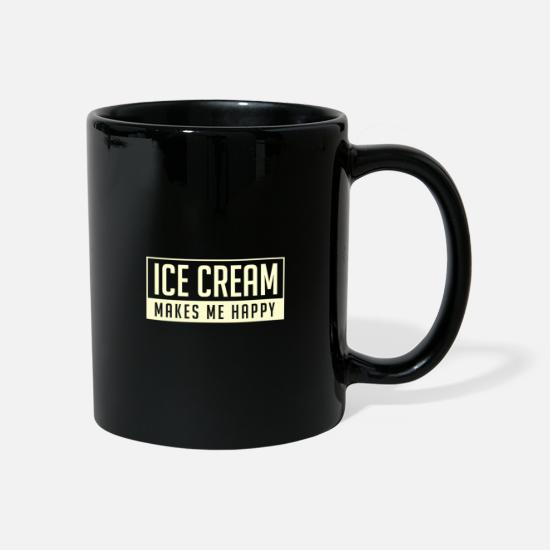 Iceman Mugs & Drinkware - Ice cream ice cream summer - Mug black