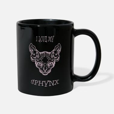 Chat Domestique Chat nu Sphynx chat - Mug